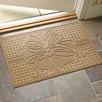 Wrap It Up Outdoor Doormat Color: Gold