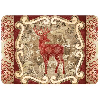 Reindeer Kitchen Mat