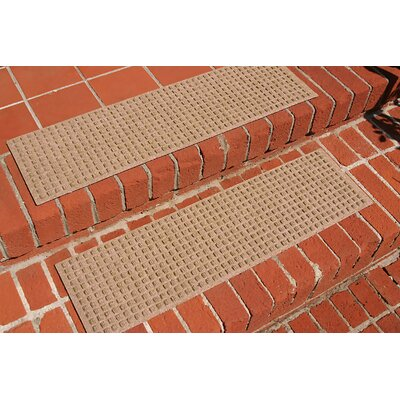 Amald Squares Stair Tread Color: Medium Brown