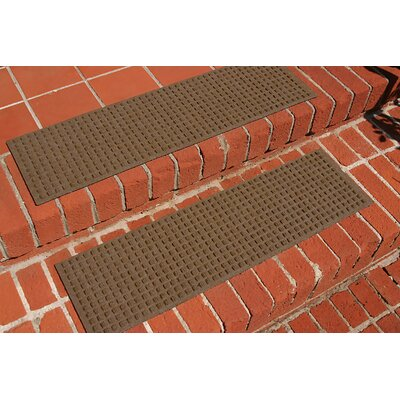 Amald Squares Stair Tread Color: Dark Brown