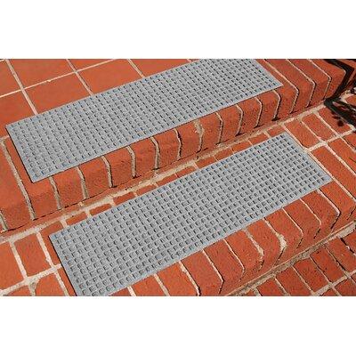 Amald Squares Stair Tread Color: Medium Gray