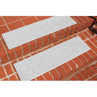 Amald Squares Stair Tread Color: White