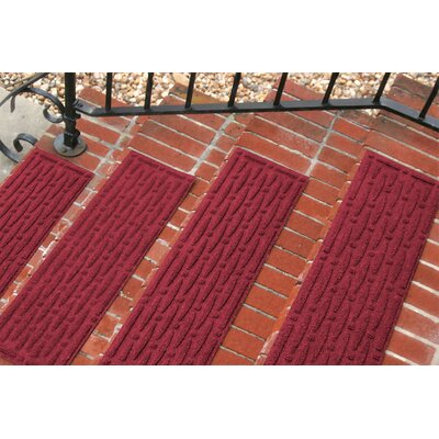 Amald Mesh Stair Tread Color: Red/Black