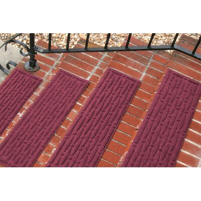 Amald Mesh Stair Tread Color: Bordeaux