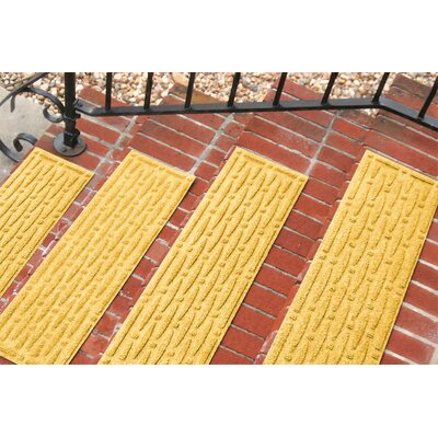 Amald Mesh Stair Tread Color: Yellow
