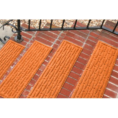 Amald Mesh Stair Tread Color: Orange