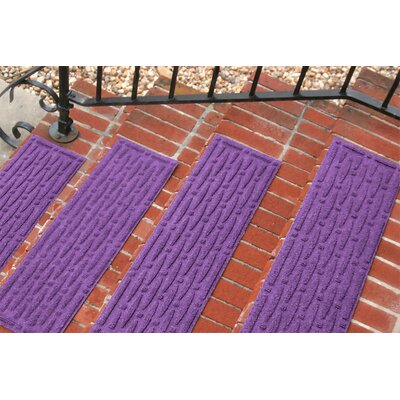 Amald Mesh Stair Tread Color: Purple