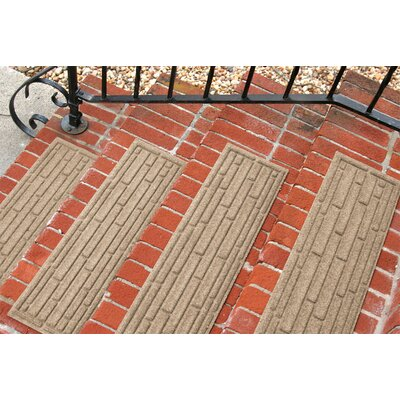 Amald Broken Brick Stair Tread Color: Camel