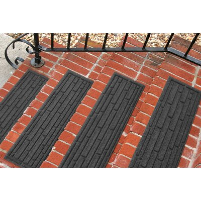 Amald Broken Brick Stair Tread Color: Charcoal