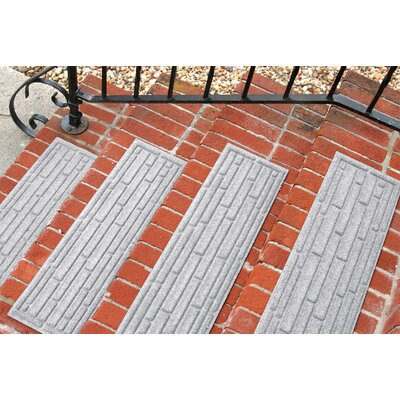Amald Broken Brick Stair Tread Color: White