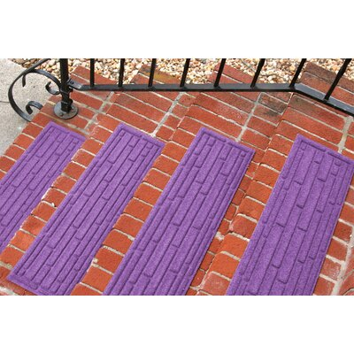 Amald Broken Brick Stair Tread Color: Purple