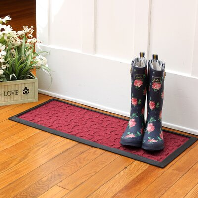 Amald Dog Treats Boot Tray Color: Red/Black