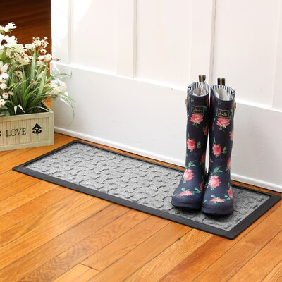 Amald Dog Treats Boot Tray Color: Medium Gray