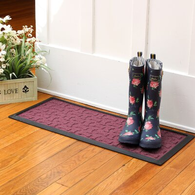 Amald Dog Treats Boot Tray Color: Bordeaux