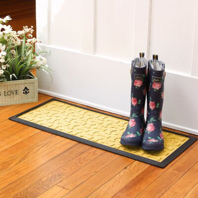 Amald Dog Treats Boot Tray Color: Yellow