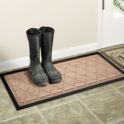 Amald Argyle Boot Tray Color: Medium Brown