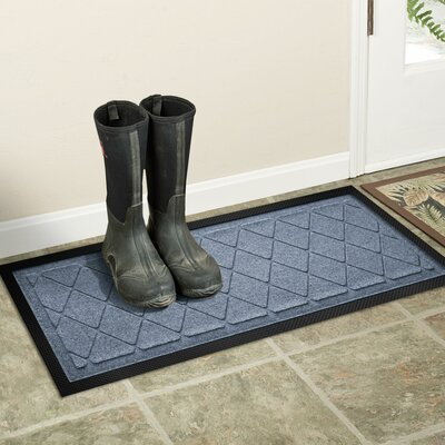 Amald Argyle Boot Tray Color: Bluestone