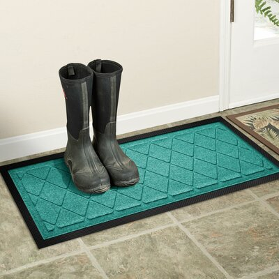 Amald Argyle Boot Tray Color: Aquamarine