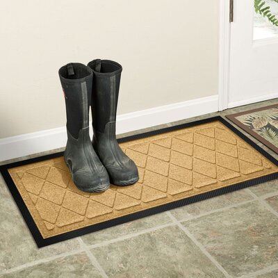 Amald Argyle Boot Tray Color: Gold