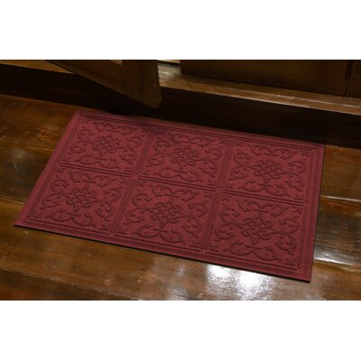 Michiel Bantry Bay Doormat Color: Red/Black