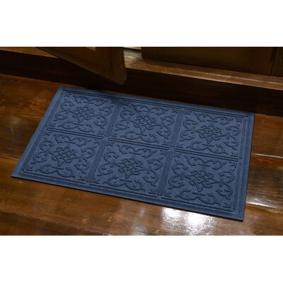 Michiel Bantry Bay Doormat Color: Medium Blue