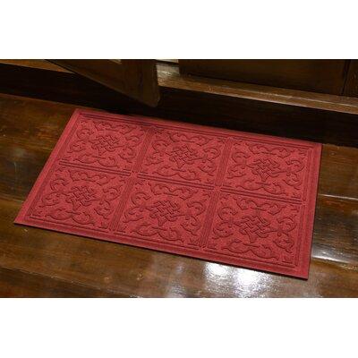Michiel Bantry Bay Doormat Color: Solid Red