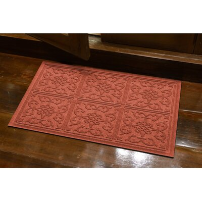 Michiel Bantry Bay Doormat Color: Orange