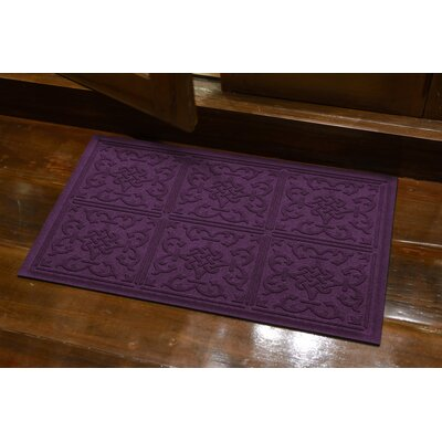 Michiel Bantry Bay Doormat Color: Purple