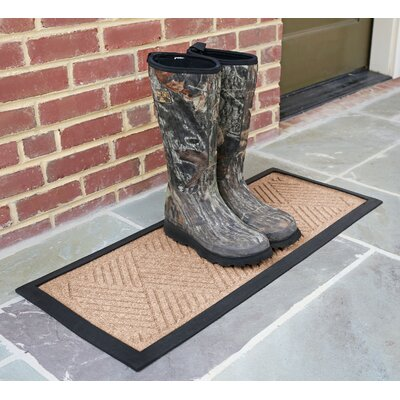 Amald Diamond Boot Tray Color: Dark Brown
