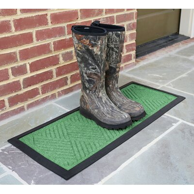 Amald Diamond Boot Tray Color: Light Green