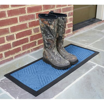 Amald Diamond Boot Tray Color: Medium Blue