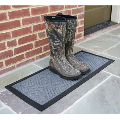 Amald Diamond Boot Tray Color: Bluestone
