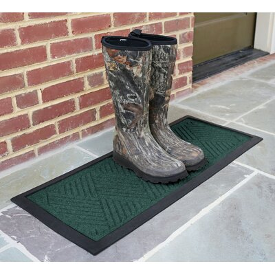 Amald Diamond Boot Tray Color: Evergreen