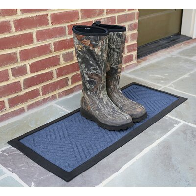 Amald Diamond Boot Tray Color: Navy