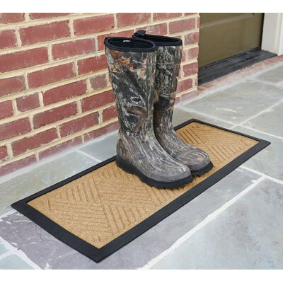 Amald Diamond Boot Tray Color: Gold
