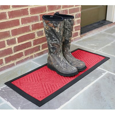 Amald Diamond Boot Tray Color: Solid Red