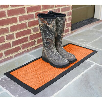 Amald Diamond Boot Tray Color: Orange