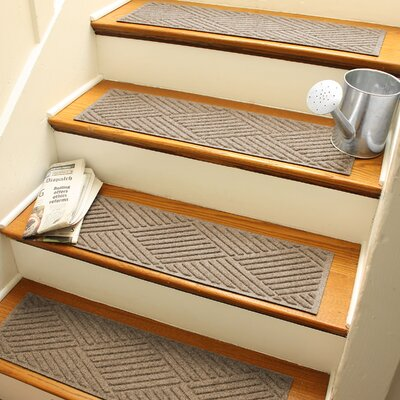Amald Diamond Stair Tread Color: Camel