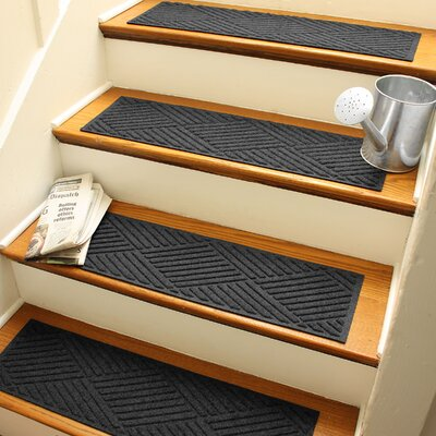 Amald Diamond Stair Tread Color: Charcoal
