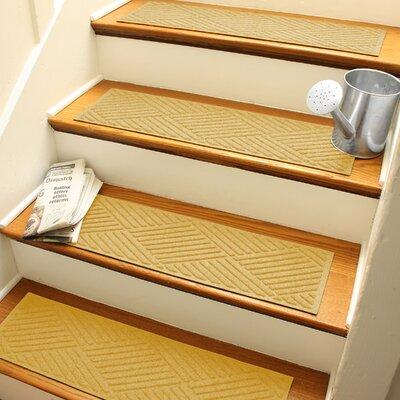 Amald Diamond Stair Tread Color: Yellow