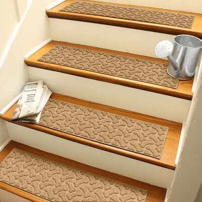 Amald Dogbone Repeat Stair Tread Color: Gold
