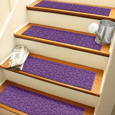 Amald Dogbone Repeat Stair Tread Color: Purple