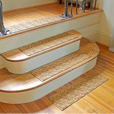 Amald Dogwood Leaf Stair Tread Color: Gold