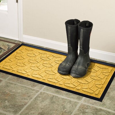 Amald Elipse Boot Tray Color: Yellow