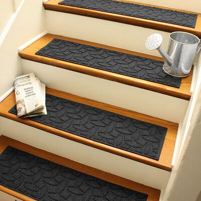 Amald Elipse Stair Tread Color: Charcoal