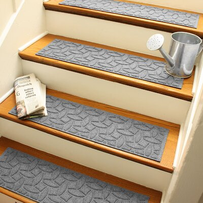 Amald Elipse Stair Tread Color: Medium Gray