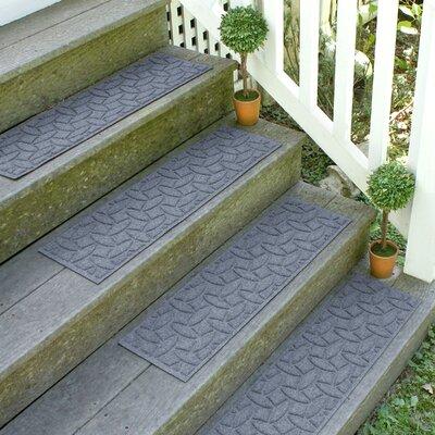 Amald Elipse Stair Tread Color: Bluestone
