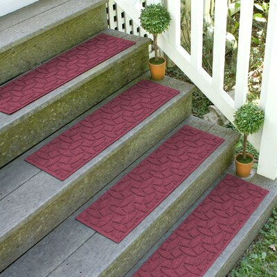 Amald Elipse Stair Tread Color: Bordeaux