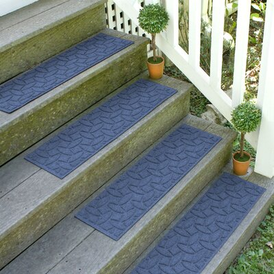 Amald Elipse Stair Tread Color: Navy