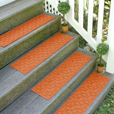Amald Elipse Stair Tread Color: Orange